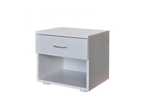 Noční stolek 140 bílá Postele