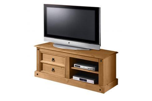 TV stolek CORONA vosk 161017 Pokoj a jídelna - Stoly a stolky - Televizní stolky