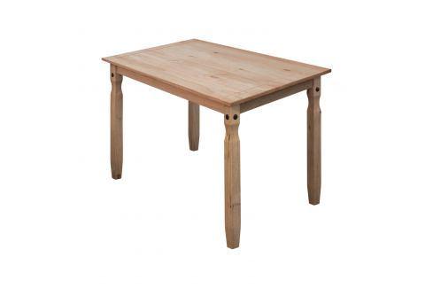 Jídelní stůl 118x79 CORONA 2 vosk 16116 Pokoj a jídelna - Stoly a stolky - Jídelní stoly