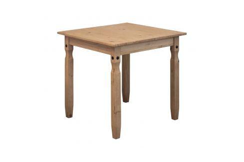 Jídelní stůl 78x78 CORONA 2 vosk 16117 Pokoj a jídelna - Stoly a stolky - Jídelní stoly