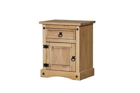 Noční stolek CORONA vosk 16345 Postele