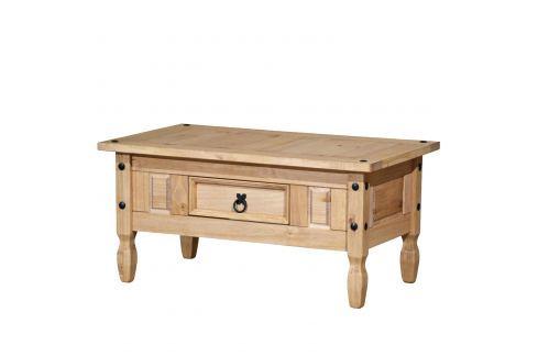 Konferenční stolek CORONA vosk 163910 Pokoj a jídelna - Stoly a stolky - Konferenční stolky