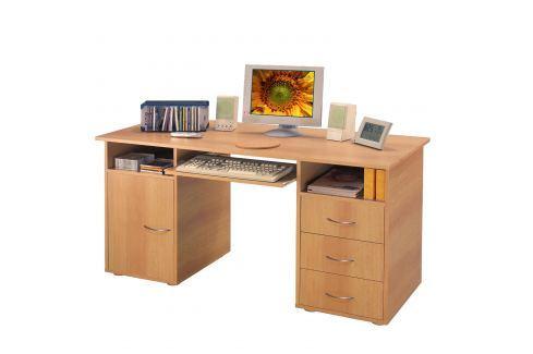 Stůl na počítač 194 buk Pracovna - Psací a PC stoly