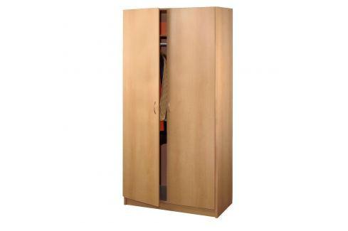 Skříň dvoudveřová 216 buk Skříně a skříňky