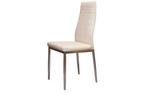 Jídelní židle MILÁNO krémově bílá Židle