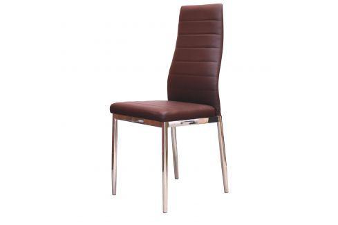 Jídelní židle MILÁNO hnědá Židle