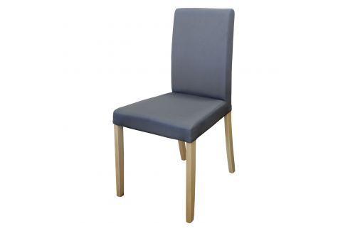 Židle PRIMA šedá/světlé nohy Pokoj a jídelna - Jídelní židle