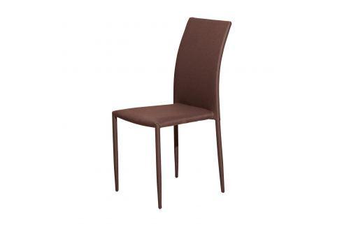 Jídelní židle PARMA hnědá Židle