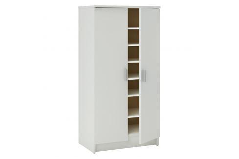 Botník 2 dveře bílá Úložné prostory - Nábytek do chodby