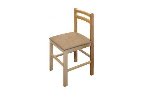 Jídelní židle MIRA buk/světle hnědá Pokoj a jídelna - Jídelní židle