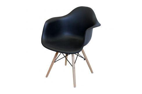 Jídelní židle DUO černá Pokoj a jídelna - Jídelní židle