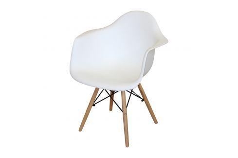 Jídelní židle DUO bílá Pokoj a jídelna - Jídelní židle