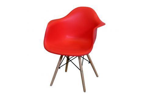 Jídelní židle DUO červená Pokoj a jídelna - Jídelní židle