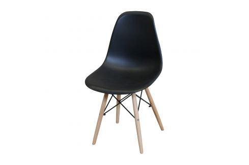 Jídelní židle UNO černá Pokoj a jídelna - Jídelní židle