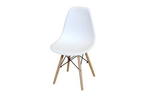 Jídelní židle UNO bílá Pokoj a jídelna - Jídelní židle