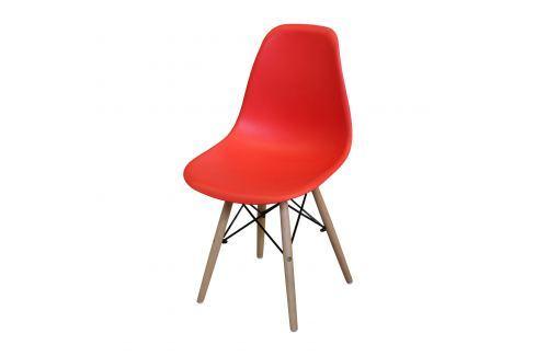 Jídelní židle UNO červená Pokoj a jídelna - Jídelní židle
