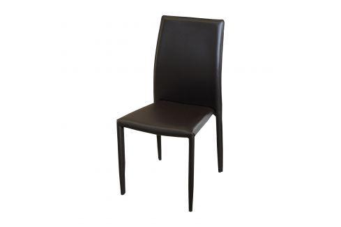 Jídelní židle ADRIA hnědá Pokoj a jídelna - Jídelní židle