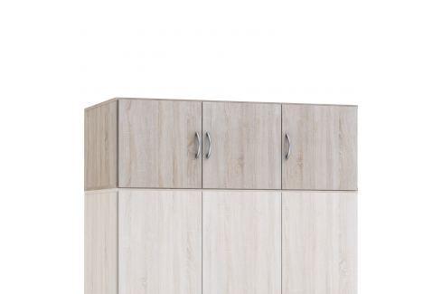 Nástavec 405068 dub (pro 405879) Úložné prostory - Skříně