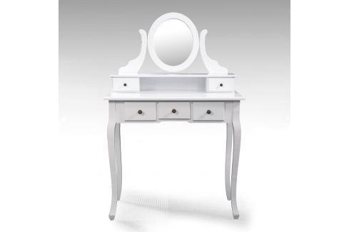 Toaletní stolek se zrcadlem STELLA Pokoj a jídelna - Stoly a stolky - Noční stolky