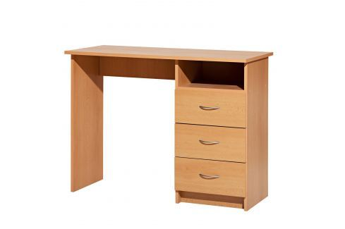 Psací stůl 44 buk Pracovna - Psací a PC stoly