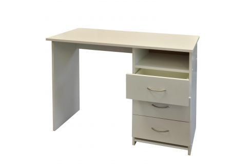 Psací stůl 44 bílá Pracovna - Psací a PC stoly