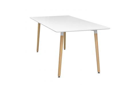 Jídelní stůl 160x90 UNO bílý Pokoj a jídelna - Stoly a stolky - Jídelní stoly