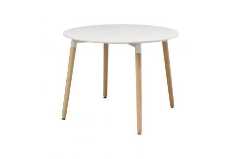 Jídelní stůl průměr 100 UNO bílý Pokoj a jídelna - Stoly a stolky - Jídelní stoly