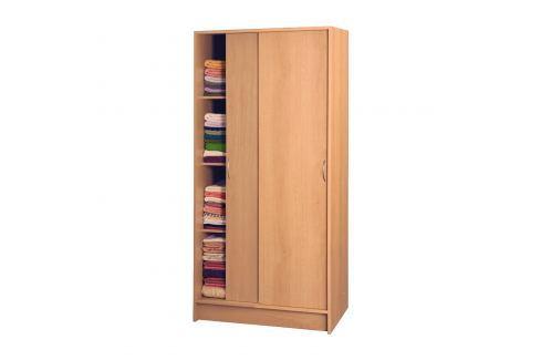 Skříň s posuvnými dveřmi 5223 buk Skříně a skříňky
