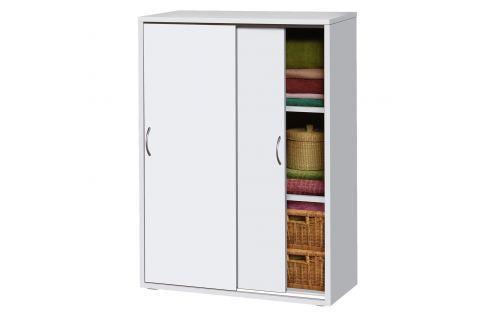 Skříňový prádelník 601 bílý Komody