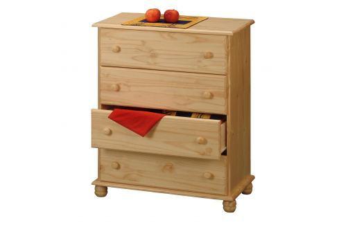 Prádelník 4 zásuvky 8014 Komody