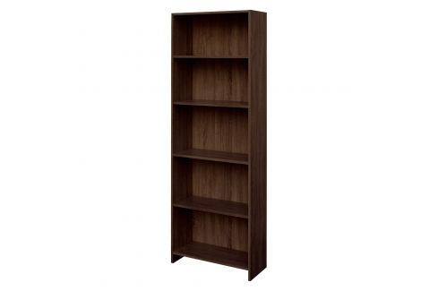 Knihovna BEST dub čokoláda Pracovna - Knihovny