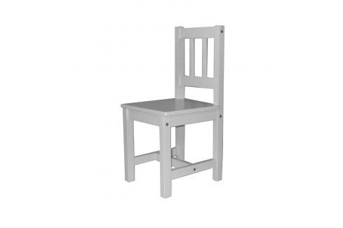Dětská židle 8867 bílá Židle