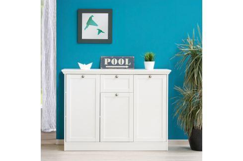 Prádelník 3 dveře + zásuvka LANDWOOD 15 Úložné prostory - Komody