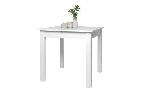 Jídelní stůl COBURG 80 bílý Pokoj a jídelna - Stoly a stolky - Jídelní stoly