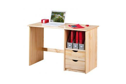 PC stůl SINUS lak Pracovna - Psací a PC stoly
