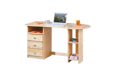 PC stůl TOUCHROUND lak Pracovna - Psací a PC stoly