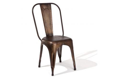 Židle AIX retro patina rez Pokoj a jídelna - Jídelní židle