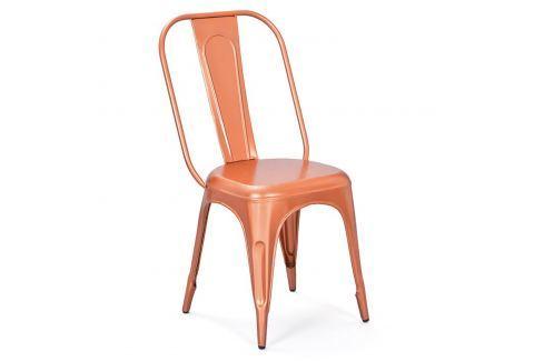 Židle AIX retro měděná Pokoj a jídelna - Jídelní židle