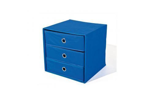 Skládací box WILLY modrý Úložné prostory - Nábytek do chodby