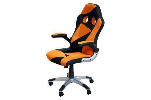 Kancelářské křeslo RACER ORANGE Pracovna - Kancelářské židle