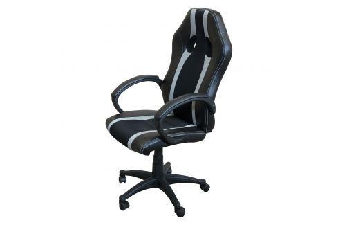 Kancelářské křeslo FORMULA GREY šedé Pracovna - Kancelářské židle