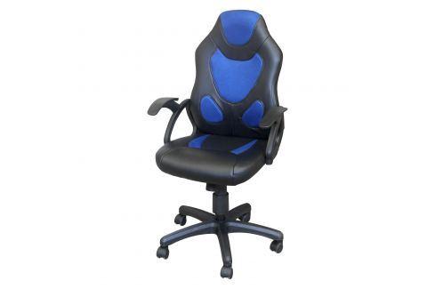 Kancelářské křeslo RACER BLUE K132 Pracovna - Kancelářské židle