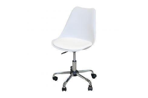 Kancelářské křeslo PRADO bílé Pracovna - Kancelářské židle