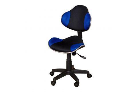 Židle NOVA modrá K15 Kancelářské židle