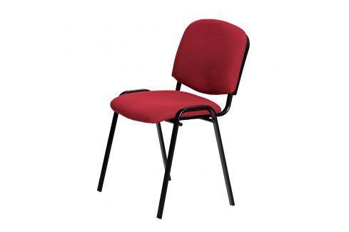 Židle VISI vínová K28 Kancelářské židle