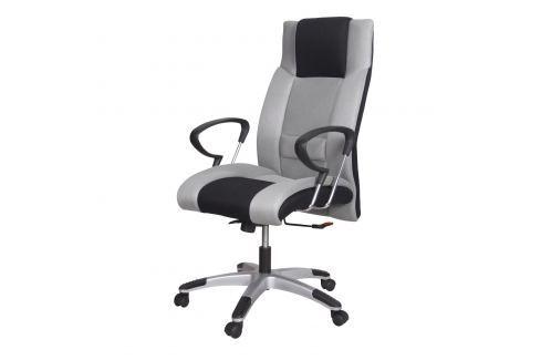 Kancelářské křeslo PREMIÉR šedá/černá K4 Kancelářské židle