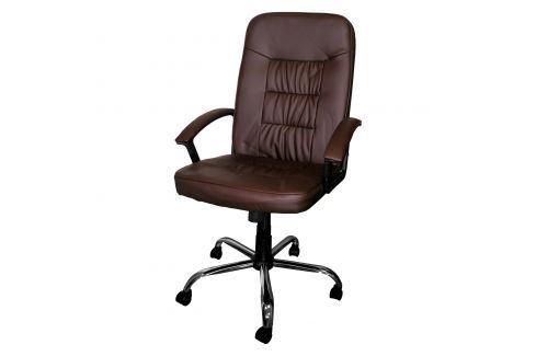 Kancelářské křeslo MAGNUM hnědé K46 Kancelářské židle