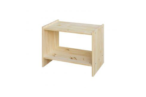 Noční stolek 7815 nelakovaný Pokoj a jídelna - Stoly a stolky - Noční stolky