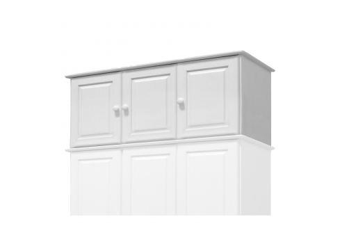 Nástavec 3dveřový 8864B bílý lak Skříně a skříňky