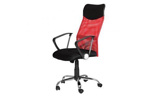 Kancelářské křeslo PREZIDENT červené K56 Kancelářské židle